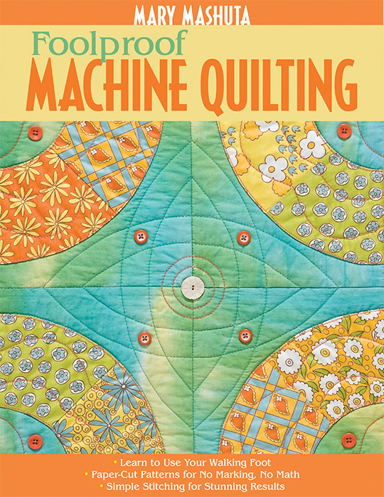 Image result for mary machuta foolproof quilting