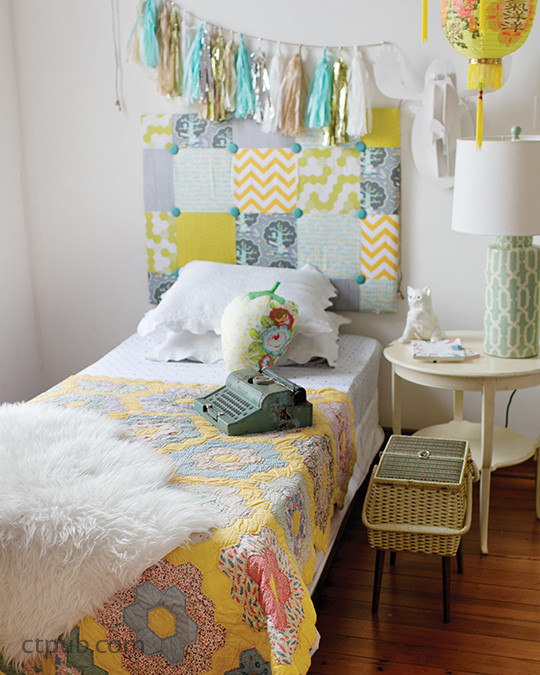 We Love to Sew - Bedrooms: 23 Projects • Cool Stuff for Your Space by Annabel Wrigley #WeLovetoSewBedrooms