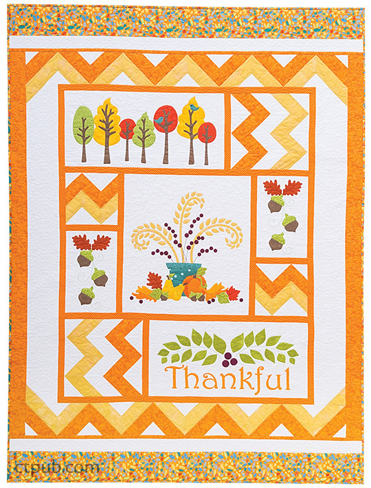 Project from Celebrate the Seasons: 4 Holiday Quilts • Easy Fusible Appliqué by Cherry Guidry #CelebratetheSeasons