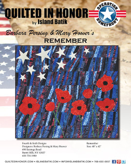Barbara Persing & Mary Hoover's Remember Quilted in Honor Benefit ePattern