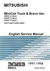 Mitsubishi MiniCab & Bravo 3G83 Engine Service Manual JD-5