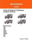 MITSUBISHI JEEP English Parts & Diagram Catalogue JD-7