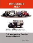 Mitsubishi Jeep Full Mechanical English Service Manual JD-6
