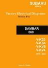 Subaru Sambar English Factory Electrical Diagrams JD-9