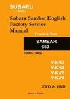 Subaru Sambar English Service Manual JD-10