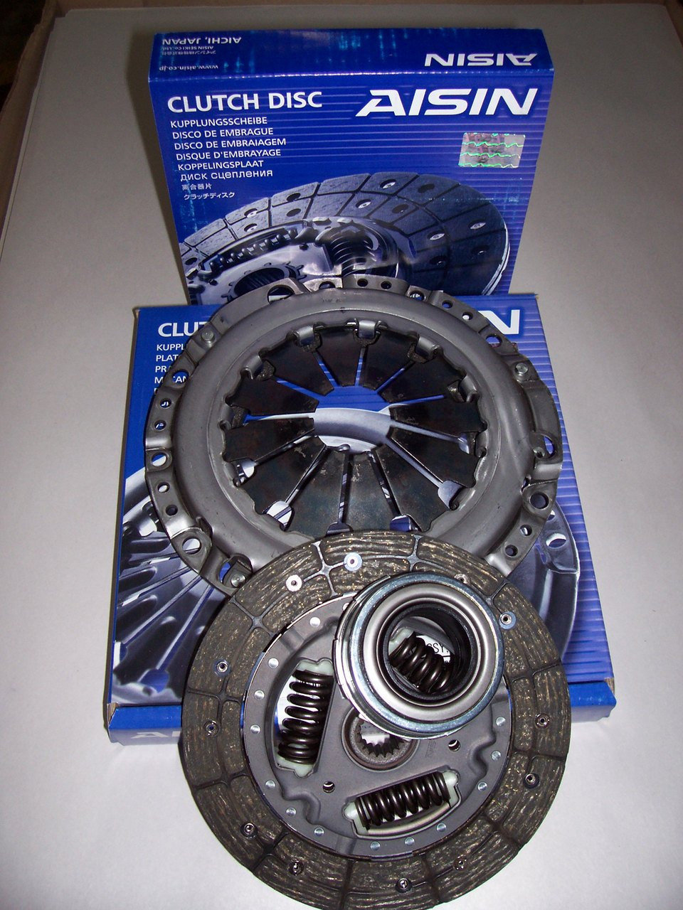 Mitsubishi Mini Cab U19t Clutch Kit  Includes Clutch Cover