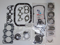 Mitsubishi Mini Cab 3G83 Hemi-Head Engine Rebuild Kit for Carbureted Engine (Standard Rings, Rod Bearings, & Main Bearings) For OVERSIZED applications Please call 618-643-3373 for assistance....Thank You