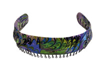 Headband - Multi-Color Retro Coordinates With Scrubs