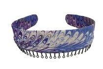 Headband - Scrub Colors In A Swirl Pattern