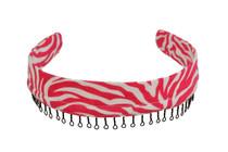 Headband - Pink Zebra Stripe