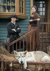 Outlander - Jamie, Claire, & Rollo - Premium Diamond Painting - Square - 50x70 - Free Shipping