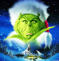 The Grinch - Premium Diamond Painting - Square - 50x60 - Free Shipping