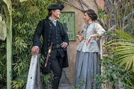 Outlander  - Jamie & Claire at the Black Cat Inn - Premium Diamond Painting - Square - 50x70 - Free Shipping