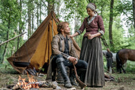 Outlander - Jamie & Claire at Tent - Premium Diamond Painting - Square - 50x70 - Free Shipping