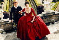 Outlander - Jamie & Claire in Red Dress - Premium Diamond Painting - Square - 50x70 - Free Shipping