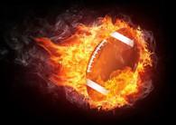 Flaming Football - Premium Diamond Painting - Round - 50x60 - Free Shipping
