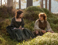 Outlander - Young Love Jamie & Claire - Premium Diamond Painting - Square - 50x60  - Free Shipping