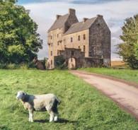Outlander - Midhope Castle Scotland Lallybroch- Premium Diamond Painting - Square - 60x60 - Free Shipping