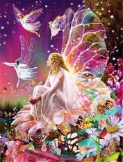 Fairy Garden - Premium Diamond Painting - Square - 50x70 - Free Shipping