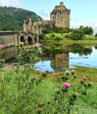Eilean Donan Castle Scotland - Premium Diamond Painting - Square - 55x70 - Free Shipping