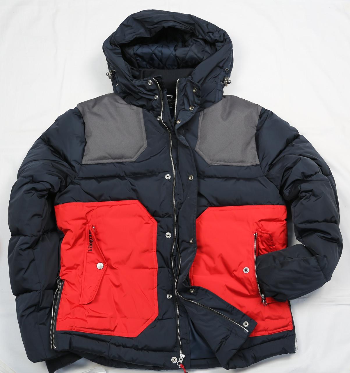 21ea5197 KG7403 - Colorblock Zipper Jacket - Kilogram Clothing