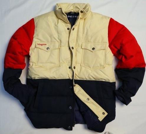 2746ffae KG7100M - Multi-color Down Jacket - Kilogram Clothing