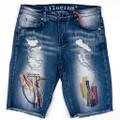KG1908 LIGHT BLUE Denim Shorts