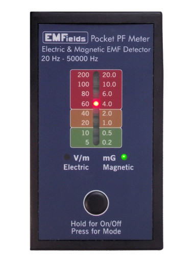 PF5 Single-Axis AC to VLF Magnetic & Electric Field Meter