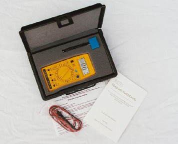 MSI-95 Gaussmeter in hard-shell carry case
