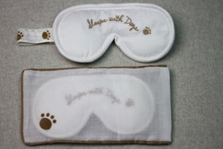 "Sleep Mask ""Sleeps With Dogs"""