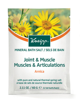 Joint & Muscle Mineral Bath Salt Sachet: Arnica