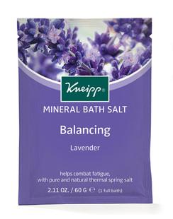Balancing Mineral Bath Salt Sachet: Lavender