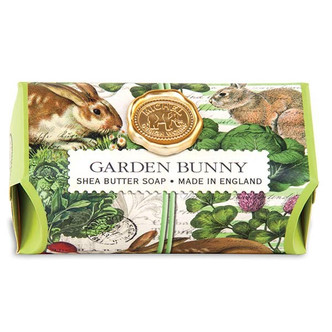 "Garden Bunny Bar Soap ""Sweet Clover"""