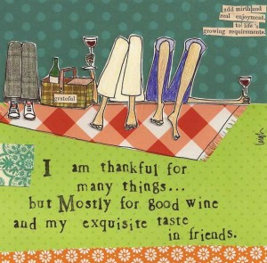 Exquisite Taste In Friends Card