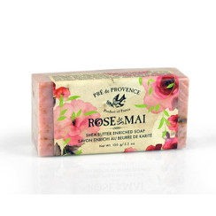 Rose de Mai Shea Butter Soap