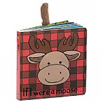 If I Were A Moose is full of make-believe magic! Little ones can have antler antics with this fun feely book! With cheery pictures and chunky board pages, it's a woodland wander through their imaginations! Don't forget to moo loud and clear, and wrap up warm in a snuggly check scarf!