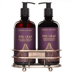 Details  Our Fig Leaf Scent is a complex mix of notes that are a little earthy, a little clean and a little sweet -- just like Brent! This lotion enriched with lavender oil and is scented with notes of fresh fig leaves, sweet fig nectar, and rich fig wood to embody the...