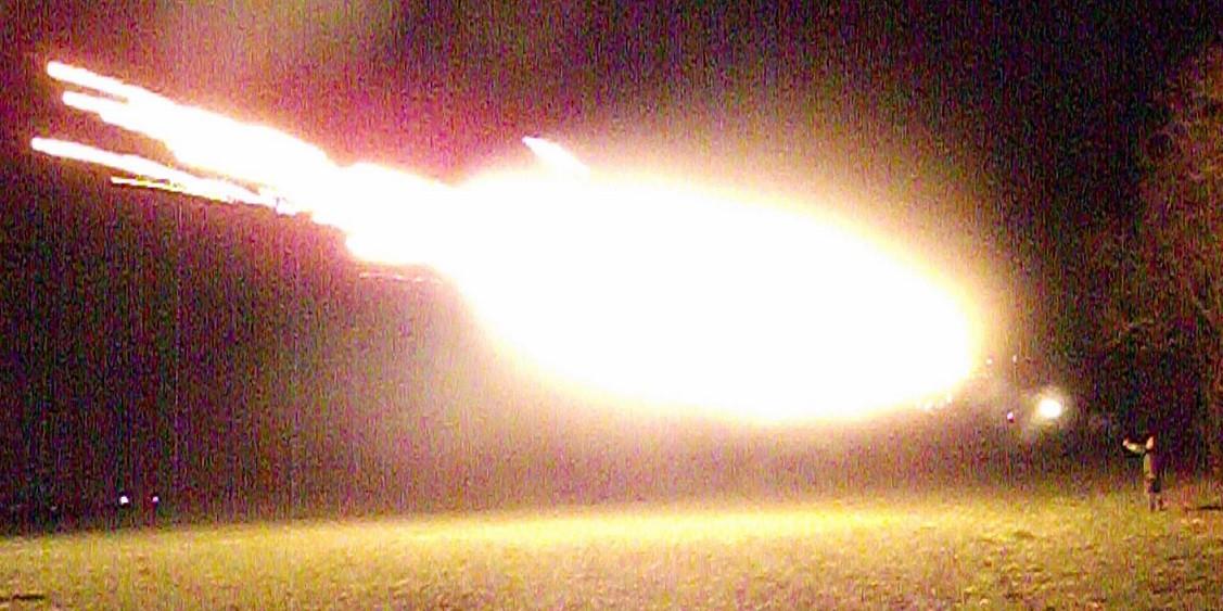 12 Gauge FireBall round, 8 Rounds, Dragon's Breath