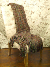 Kennebunk Canyon Woven Throw Multi Earth Colors