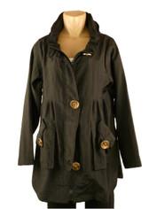 Rainy Breezy Fashion Jacket Black