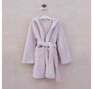 1 Lilac  Child Barefoot Dreams CozyChic Childrens Cover Up/Robe in Pale Lilac