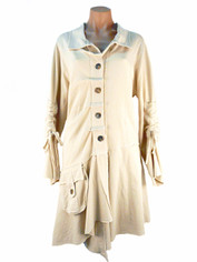 Color Me Cotton Alissa Jacket in Natural