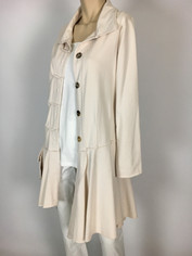 Color Me Cotton CMC Alissa Jacket in Buttermilk   SALE