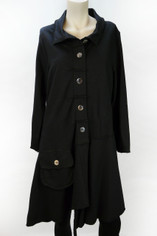 CMC Color Me Cotton Alissa Coat/Jacket in Black