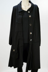 Color Me Cotton CMC Alissa Jacket in Black