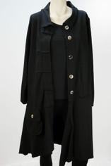 Color Me Cotton CMC Alissa Jacket in Black