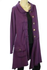 Color Me Cotton CMC Alissa Jacket in Plum  SALE