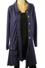 Color Me Cotton CMC Alissa Jacket in Navy