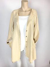 Color Me Cotton CMC Alex Tunic in Chamois/Natural CLEARANCE PRICE