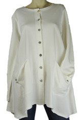 Color Me Cotton Alex Shirt/Jacket White
